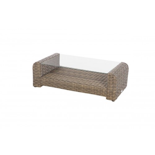 Table basse de jardin rectangulaire MOOREA