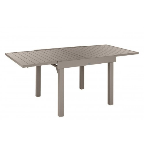 Table de jardin extensible PIAZZA - 8 Personnes - Aluminium