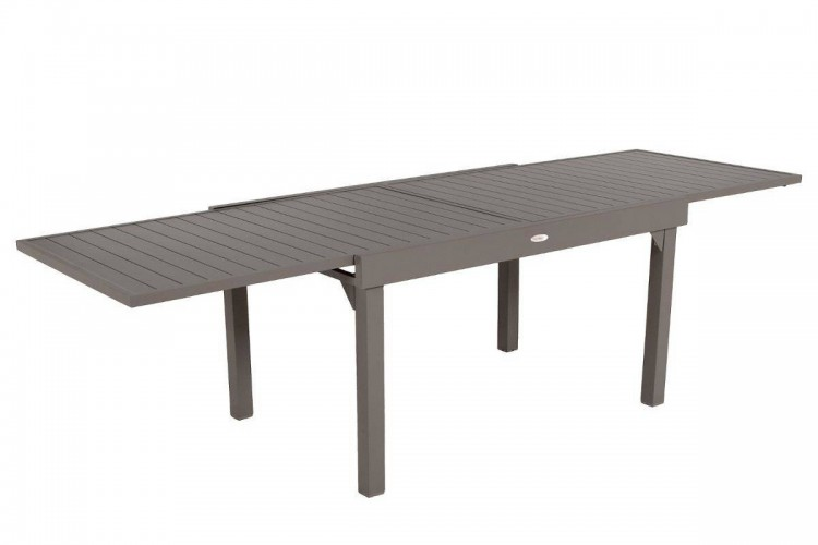 table de jardin extensible piazza hesp ride 10. Black Bedroom Furniture Sets. Home Design Ideas
