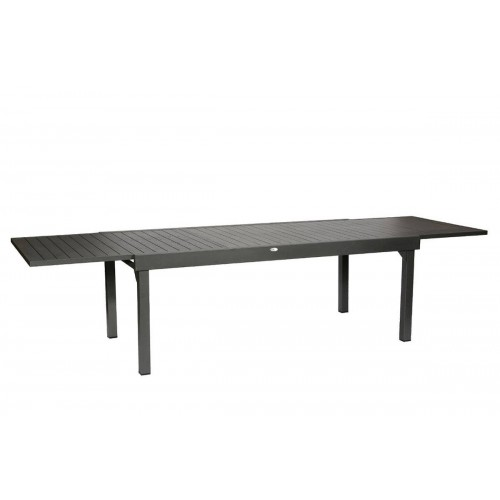 Table de jardin extensible PIAZZA - 12 Personnes - Aluminium