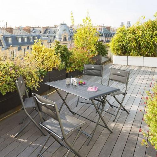 Table de jardin pliante AZUA - 4 Places