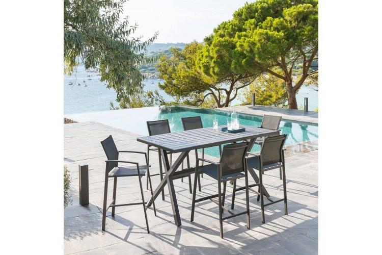 Table Haute De Jardin Axiome Hesperide 6 Places